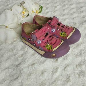 Keen floral pink/purple 100 % sneakers outdoor
